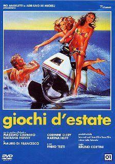 Giochi D'Estate: Fabio Testi, Corinne Clery, Karina Huff, Valeria Cavalli, Massimo Ciavarro, Natasha Hovey, Bruno Cortini: Movies & TV