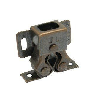"Cabinet Cupboard Door Double Ball Latch Catch 1.2"" Copper Tone   Cabinet And Furniture Door Catches"