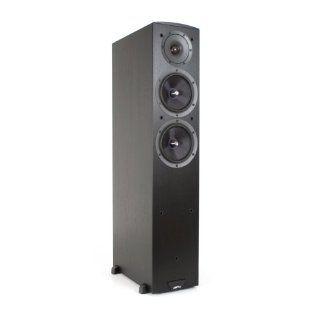 Jamo C605 Floor Standing Speaker (Single, Black) Electronics