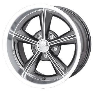 "Ion Alloy 625 Grey Wheel with Machined Lip (20x8.5""/5x120.65mm): Automotive"