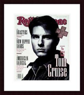 Rolling Stone Cover of Tom Cruise / Rolling Stone Magazine Vol. 631, May 28, 1992, Movie Print by Albert Watson   Unframed Prints