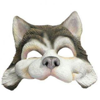 Husky Dog Half Mask Animal Halloween Costumes Adult Clothing