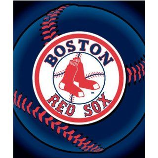 Boston Red Sox Fleece Blanket/Throw   MLB Baseball : Sports Fan Throw Blankets : Sports & Outdoors