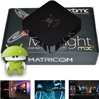 G Box Midnight MX2 Android 4.2 Jelly Bean Dual Core XBMC Streaming Mini HTPC TV Box Player: Electronics