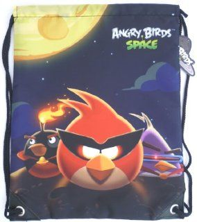 ANGRY BIRDS SPACE Swim Bags, School Drawstring Backpack, Gym PE   gifts for kids, childrens, teenagers girls, boys, son, daughter, niece, nephew, travel, sports, swimming pool, birthday, christmas, picnic.: Toys & Games