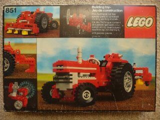 Lego Technic 851 Tractor   Expert Builder: Toys & Games