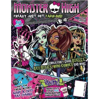 Monster High Official Magazine Issue # 1 U.S.: Toys & Games