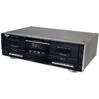 Pyle PT659DU Dual Stereo Cassette Deck with Tape USB to  Converter   Players & Accessories