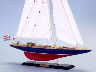 "Endeavor Limited Edition Yacht Model Sailboat 27"" sailing boat model, America's Cup model, j class model yacht, Americas Cup model J yachts   Home Decor Accents"