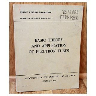Army Technical Manual TM 11 662, Air Force Technical Order TO 16 1 255 Basic Th U.S. Departments of the Army and the Air Force Books