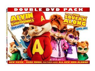 Alvin and the Chipmunks: The Squeakquel (Two Disc Special Edition): Drew Barrymore, Justin Long, Betty Thomas: Movies & TV
