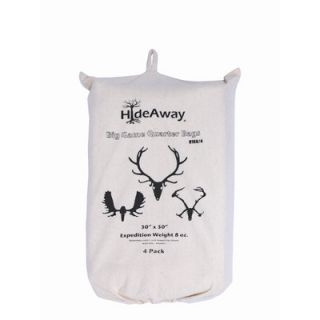 HideAway Big Game Expedition Weight Quarter Bag (Set of 4)