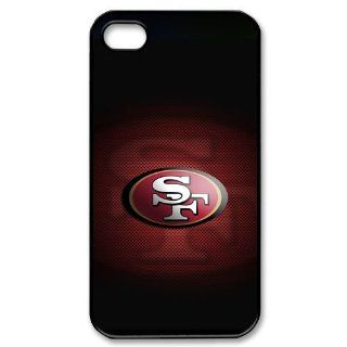 San Francisco 49ers Logo Iphone 4 / 4s Fitted Hard Case Cool Cover: Cell Phones & Accessories