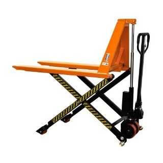 "Bolton Tools New Manual Scissor High Lift Pallet Jack Truck   3300 LB of Capacity   31.5"" Max Height   Model GS150"
