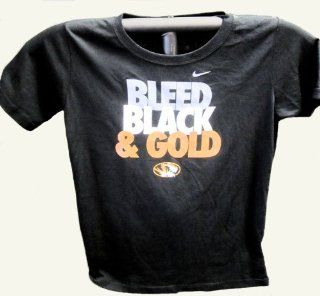 Officially Licensed NCAA Mizzou Tigers T Shirt Black Medium  Sports Fan Apparel  Sports & Outdoors