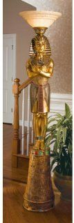 "74.5"" Classic Egyptian Statue King Tut Decorative Sculpture Floor Lamp   Indoor Figurine Lamps"