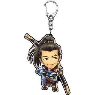 The only character Samurai Warriors acrylic keychains Chronicle 2nd (3) Yagyu Munenori (japan import) Toys & Games