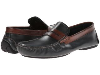 Johnston & Murphy Cowan Penny Mens Slip on Shoes (Black)