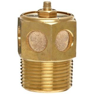 """Parker 045160016 Exhaust Speed Control Muffler / Flow Control, 1"""" NPT, 2.15"""" Length, 250 psi Compressed Air Pneumatic Mufflers Industrial & Scientific"""