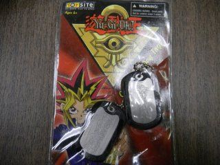 Yu gi uh Collectible Dog Tags Necklace Magician of Black Chaos By Toy Site