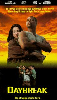 Daybreak [VHS]: Moira Kelly, Cuba Gooding Jr., Martha Plimpton, Omar Epps, Amir Williams, David Eigenberg, Alice Drummond, John Cameron Mitchell, Willie Garson, Mark Boone Junior, Deirdre O'Connell, Jon Seda, Newton Thomas Sigel, Stephen Tolkin, Colin