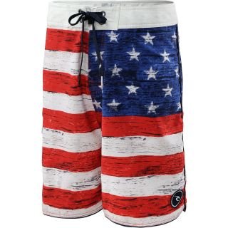 RIP CURL Mens Old Glory Boardshorts   Size: 38, Red