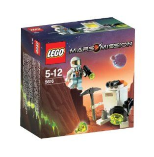 Lego Mars Mission Exclusive Mini Figure Set #5616 Mini Robot: Toys & Games