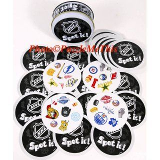 Spot It Party Game _ NHL Hockey Themed Version: Toys & Games