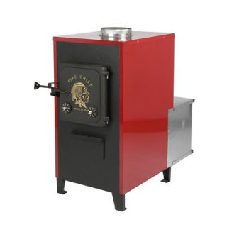 Fire Chief 80,000 BTU Indoor Wood Coal Burning Forced Air Furnace