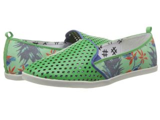 DV8 Ronan Womens Slip on Shoes (Green)