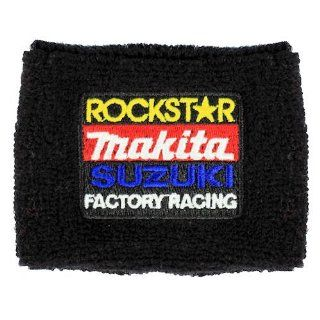 Rockstar Suzuki Brake Reservoir Sock Cover Fits GSXR, GSX R, 600, 750, 1000, 1300, Hayabusa, Katana, TL 1000, SV 650: Automotive