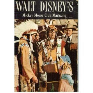 "WALT DISNEY'S ""MICKEY MOUSE CLUB MAGAZINE"" Fall 1956 (Cover photo of Karen Pendleton and Iron Eyes Cody): Walt Disney: Books"