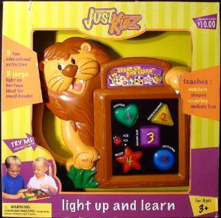Just Kidz Light Up & Learn Electronic Learning Toy: Toys & Games