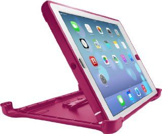 OtterBox Defender Series Case for iPad Air   Retail Packaging   Papaya   White/Pink Computers & Accessories