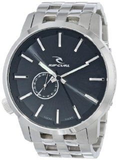 Rip Curl Men's A2227 BLK Detroit Stainless Steel Black Watch: Rip Curl: Watches