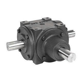 Gear Drive, Bevel, 1150 rpm, 34 HP, CI: Home Improvement