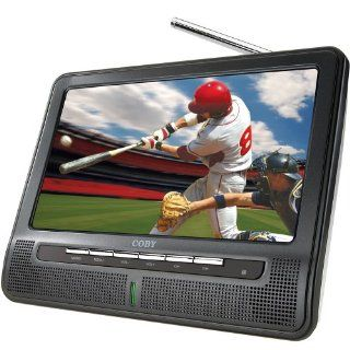 Coby TFTV791 7 Inch Portable Widescreen LCD TV with ATSC/NTSC Tuner and Integrated Telescopic Antenna (Black) Electronics