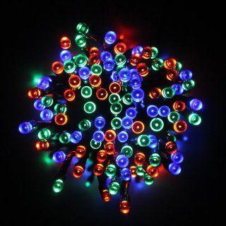 Innoo Tech 55ft/17m 100 LED Solar Fairy String Lights for Outdoor Garden Home Christmas Party Decor(Multi Color) : Christmas Decorations : Patio, Lawn & Garden