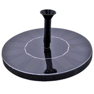 VicTsing 1.4W Solar Panel Power Water Floating Pump Fountain Pool Garden Plants Watering Kit   Solar Pond Fountain