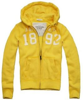 Abercrombie Men's Orebed Brooke Full Zip Hoodie (X Large, Yellow) at  Men�s Clothing store