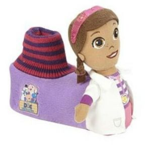 Doc McStuffins Toddler Girls Socktop Slipper: Shoes