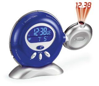 Oregon Scientific RM816PA B Rotating Projection Atomic Clock, Blue