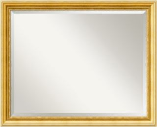 Townhouse Gold Wall Mirror   31W x 25H in.   Wall Mirrors