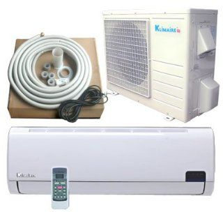9000 BTU KLIMAIRE Inverter Ductless Mini Split Heat Pump Air Conditioner 16 SEER   Multiroom Air Conditioners