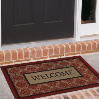 Mohawk Industries Boxed Welcome Sheikh 18 x 30 Doormat   Outdoor Doormats