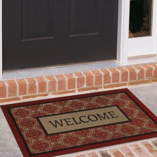 Mohawk Industries Boxed Welcome Sheikh 18 x 30 Doormat   Outdoor Doormats