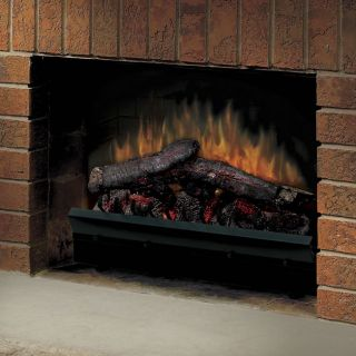 Dimplex 23 in. Deluxe LED Electric Fireplace Insert   Electric Inserts