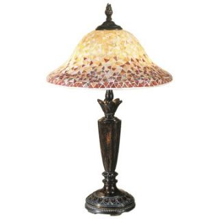 Dale Tiffany Cassidy Mosaic Table Lamp   Table Lamps