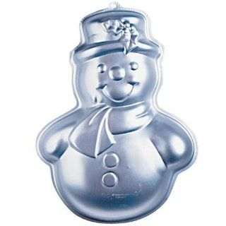 Wilton Merry Snowman Christmas Holiday Cake Pan (2105 803, 1989) Retired: Kitchen & Dining