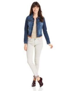 Lucky Brand Women's Sabrina Denim Jacket at  Women�s Clothing store